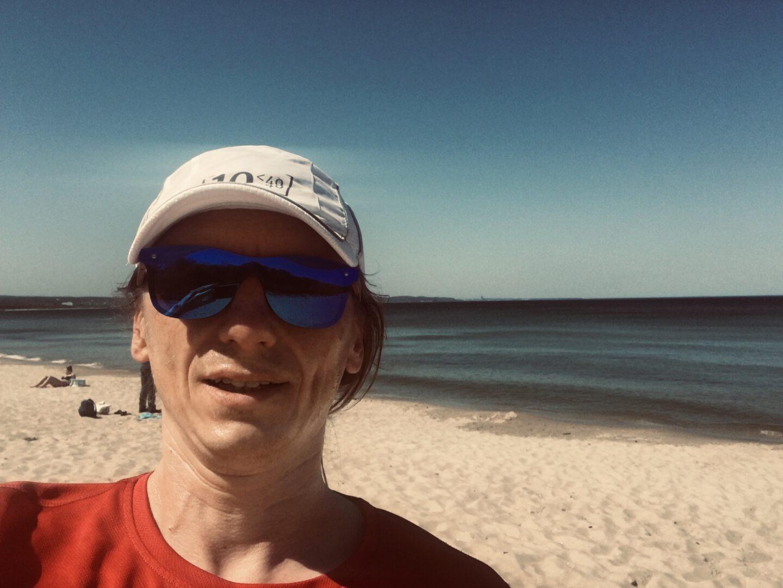 Plaża, zatoka, piasek i… powrót na konferencję ;).